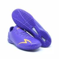 Promo Sepatu Futsal Specs Accelerator Exocet In-Hitam Biru Merah