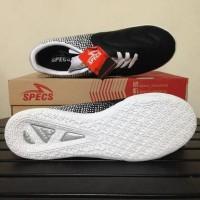 Best Seller Sepatu Futsal Specs Equinox Black Gold White 400773