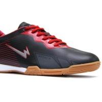 Promo Sepatu Futsal Eagle Original 100% - Barracuda - Hitam, 38 Harga