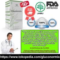 Gluconormix - Obat Kencing Manis Alami, Kering, Tradisional, Herbal