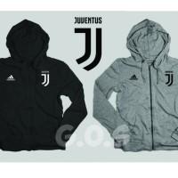 Jaket Hoodie Sweater Halfzipper Juve Juventus Grade Ori Jersey Futsal