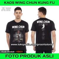 KAOS WING CHUN HANZO FIGHT GEAR, T SHIRT WING CHUN PREMIUM BERKUALITAS - S