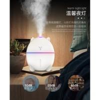 Aroma Terapi Cat Ultrasonic Difusser Humidifier + 3ml essential oil
