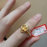 cincin emas hongkong 24k ring size 13