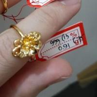 cincin emas hongkong 24k ring size kecil