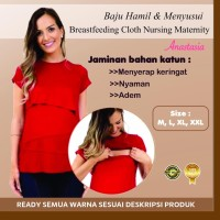 Baju Perlengkapan Melahirkan Hamil Menyusui Breastfeeding Anastasia