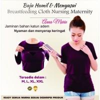 Baju Perlengkapan Melahirkan Hamil Menyusui Breastfeeding Clothes