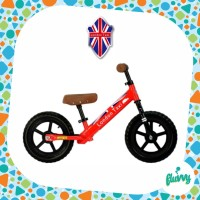 Sepeda Balance Bike - London Taxi - Kick Bike (Red)