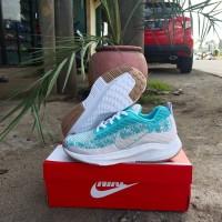 sepatu sport cewek nike - biru putih