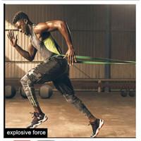 Karet Elastis Yoga / Fitness / Gym ( 14 x 4.5 mm ) Resistance Band