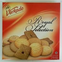 Biskuit Kaleng Verkade Royal Selection 400g biscuit holland