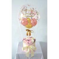 Custom Hot Air Balloon Flower Box Jabodetabek only! | Custom Gift