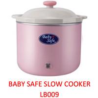 Baby Safe LB009 PINK Slow Cooker Alat Memasak Menghangatkan Makanan