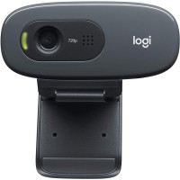 Logitech C270 Desktop or Laptop Webcam, HD 720p Widescreen for Video C