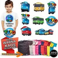 Kaos Tayo Baju anak 1-8 tahun unisex Custom Nama Combed 30s