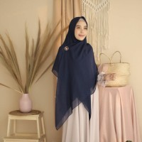 Paris Scarf Syar'i Navy