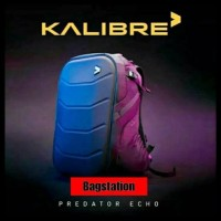 Tas Ransel Laptop Backpack Kalibre Predator Echo Original Tas Hardcase