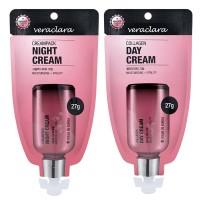 Veraclara - Creampack Night Cream and Collagen Day Cream 27gr