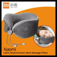 Xiaomi Mijia Lf Neck Massager Pillow Bantal Leher Pijat Pijet Travel