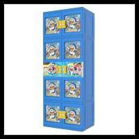 Promo | Discount Lemari Plastik Gantung Jumbo Naiba Doraemon 3D -