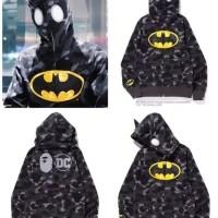 kaos jaket hoddie bape batman original