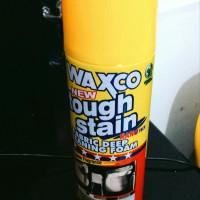 Waxco Tough Stain Cleaning Foam 500gr - Pembersih Interior Kain Karp