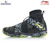 New Sepatu Badminton Lining Ranger 4.0 AYAP015-6 Black / Rare Grey