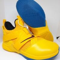 Sepatu Basket Nike Lebron James 12 Soldier Yellow Man Murah