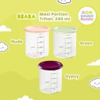 Beaba 240ml Food Jar Maxi Baby Portion Tritan