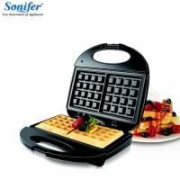 Waffle Maker Sonifer SF-6043 Nonstick / Alat Pembuat Waffle Roti