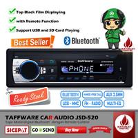 Taffware Car Audio JSD-520 Tape Mobil JSD520 Bluetooth USB with Remote