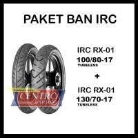 IRC ROAD WINNER RX-01 100/80-17 + 130/70-17 PAKET BAN TUBELESS
