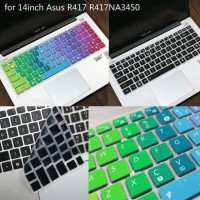 Keyboard Laptop Cover Protector Silikon for 14 Asus r417na3450 a480ua