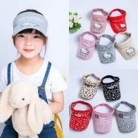 Topi baseball golf katun rajut anak korea import / topi anak murah
