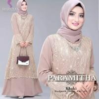 Baju Lebaran Dress Muslim Paramitha Gamis Terbaru