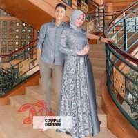 Couple Lebaran Baju pasangan Muslim CPDerian Baju Lebaran