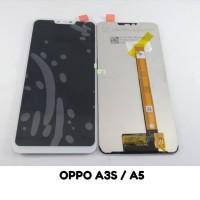Hs LCD OPPO A3S / A5 FULLSET TOUCHSCREEN ORIGINAL - Hitam