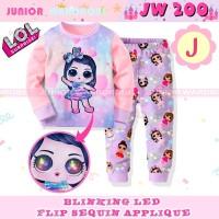 piyama LED anak junior wardrobe/ piyama JW/ piyama LOL