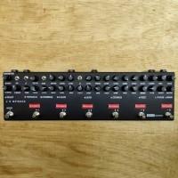 Efek Gitar MultiAnalog pedal custom 10 efek dengan Preamp