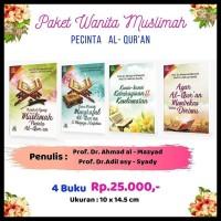 Diskon Paket Buku Islam Wanita Muslimah Pecinta Al-Qur`An