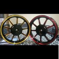 Motor Velg Racing Lebar 185 215 Ring 14 Vario Mio Scopy Dll Honda Warn
