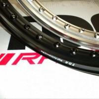 Motor Velg Tdr W Shepe 1 Dll Hitam Silver Gold Warna 17 Ring 160 140 S
