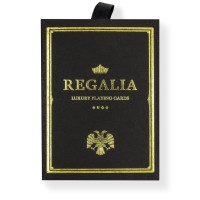 Regalia Playing Cards Black by Shin Lim (Kartu Remi Regalia Hitam)