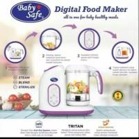 LB02B LB02P Baby Safe Digital Food Maker Mesin Makanan Bayi kukus