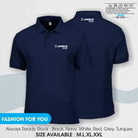 Polo Shirt Kaos Kerah Airbus A320 New Pakaian Good Quality