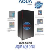 KULKAS 1 PINTU AQUA JAPAN AQR - 181 D NEW DESIGN