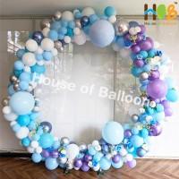 PALETA Winter Frozen - Balon Latex Khusus Dekorasi Lateks Tebal 50 Pcs