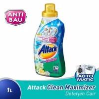Attack Clean Maximizer Sabun Deterjen Cair Mesin Cuci TERUJI