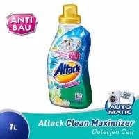Attack Clean Maximizer Sabun Deterjen Cair Mesin Cuci STOK TERBATAS