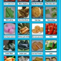 Best Seller Kue Basah Jajanan Pasar Kue Tampah 60Pcs Bulet Uk 20 Cm
